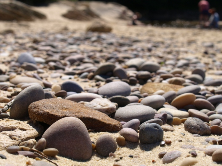 Miners Beach Stones, Pictured Rocks National Lakeshore