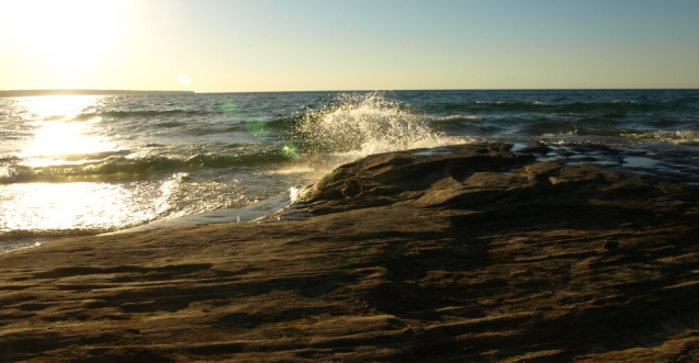 Evening at Pictured Rocks National Lakeshore