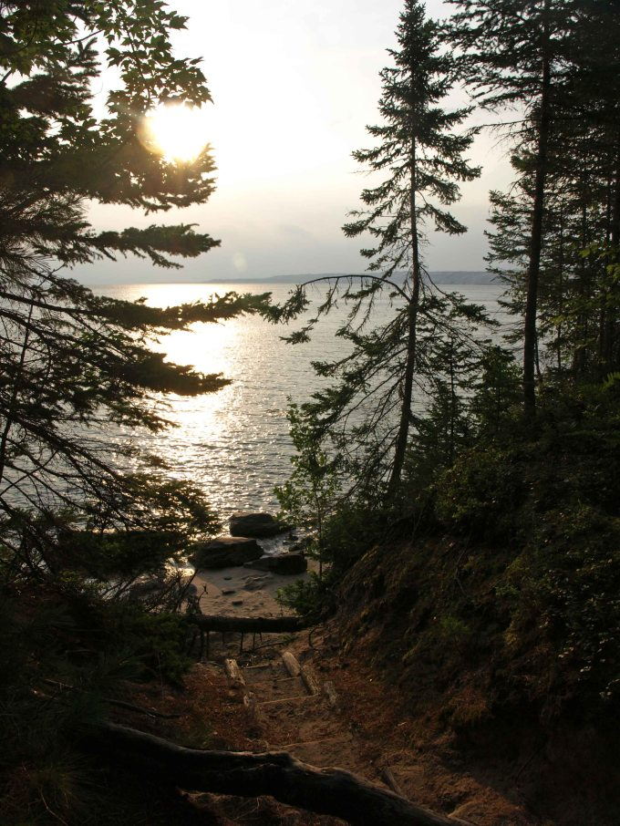 Lake Superior before the storm