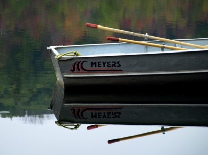 Lake Reflections, Camp Lael