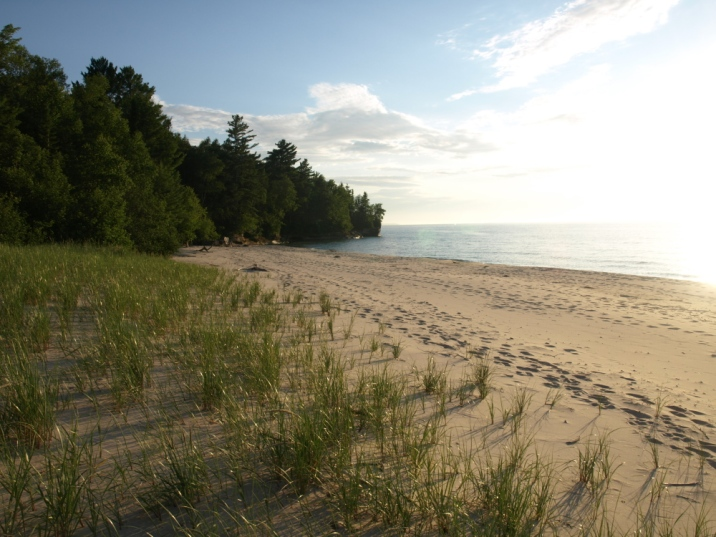 Beach at Coves, Pictured Rocks National Lakeshore