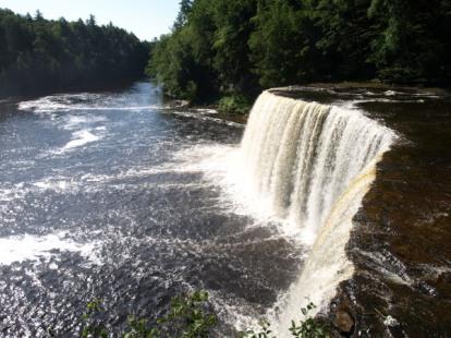 Upper Tahquamenon Falls - midsummer