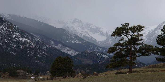 Moraine, Rocky Mountain National Park, CO