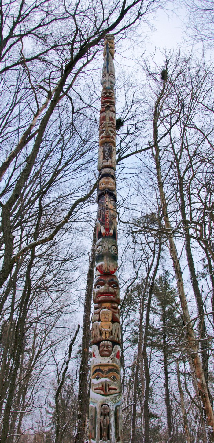 Totem Pole, Fenner Nature Center