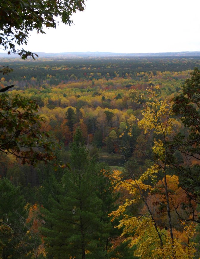 North Country Trail, Manistee National Forest, Michigan, October 2016