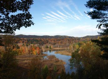 Up from Red Bridge, Manistee River Trail, Lower Peninsula, October 2016