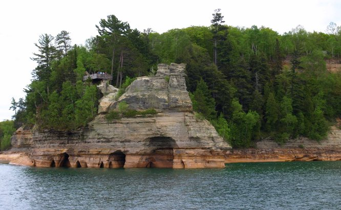 Miner's Castle, Pictured Rocks National Lakeshore