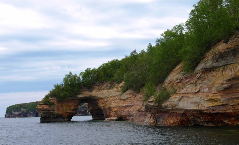 Lover's Leap, Pictured Rocks National Lakeshore