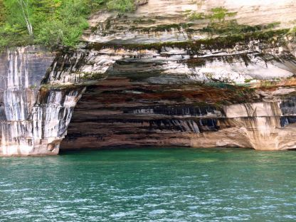 Rainbow Cave, Pictured Rocks National Lakeshore