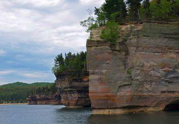 Battleship Row, Pictured Rocks National Lakeshore