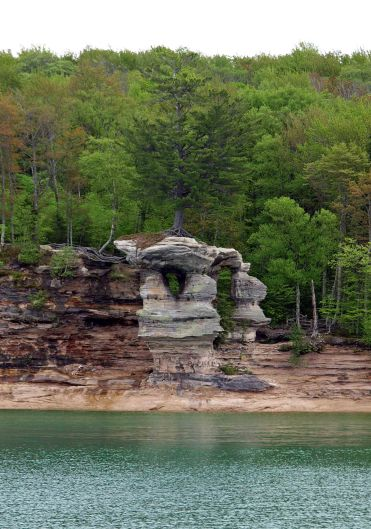 Chapel Rock, Pictured Rocks National Lakeshore
