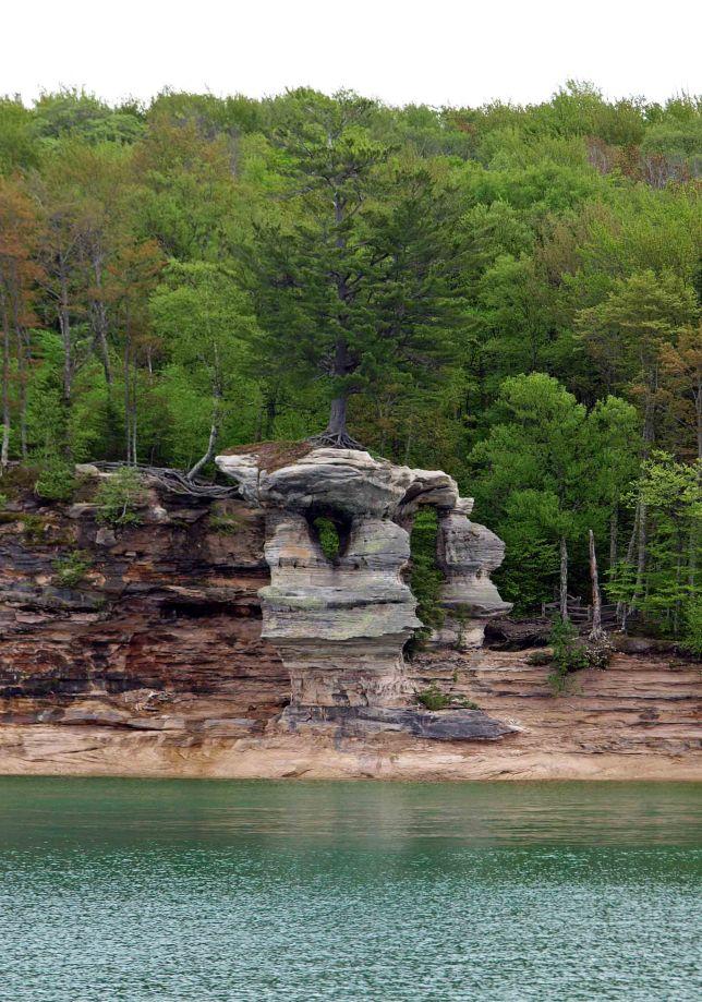 Chapel Rock, Pictured Rocks National Lakeshore