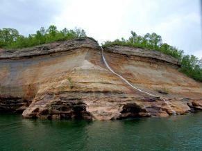 Bridal Veil Falls, Pictured Rocks National Lakeshore