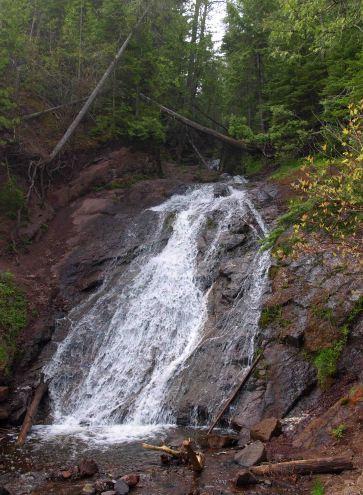 Jacob's Falls on M-26 near Eagle River, Michigan