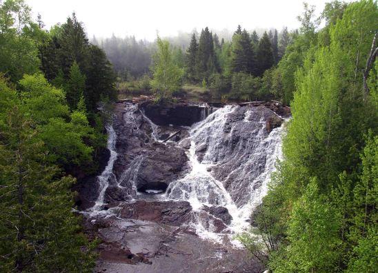 Eagle River Falls, M-26