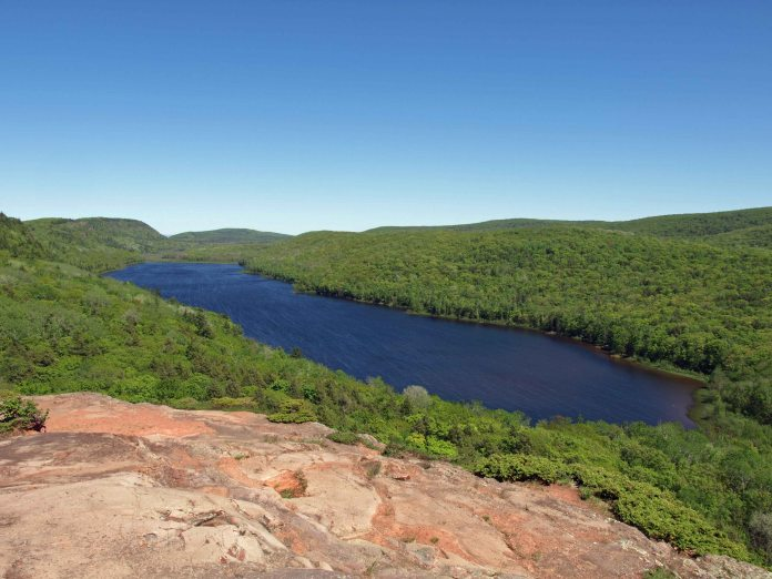 Lake of the Clouds, Porcupine Mountains, Upper Peninsula
