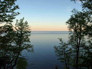 Lake Superior at Sunrise, Presque Isle State Campground, Porcupine Mountains, Upper Peninsula