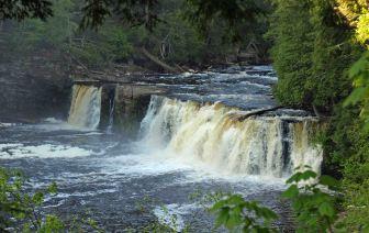 Manabezho Falls, Porcupine Mountains, Upper Peninsula