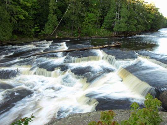 Manido Falls, Porcupine Mountains, Upper Peninsula