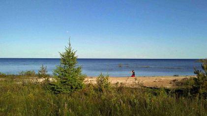 Lake Michigan at Manistique